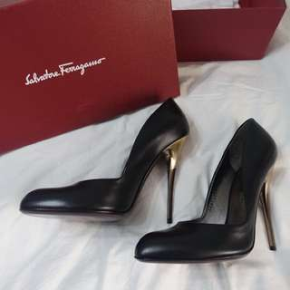 Salvatore Feragamo heels- authentic new!