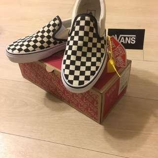 全新Vans棋盤鞋 Slip On