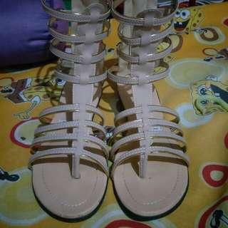 Semi Gladiator Sandals