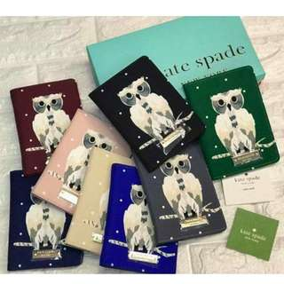 KATE SPADE Leather Passport Holders 2017/ ☑ 💯% Authentic