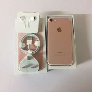 Iphone7 128G rose gold . Fullest 、9成9 new