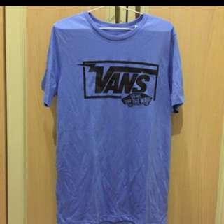 Vans Blue Shirt