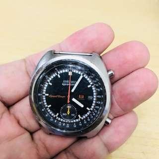 1970s Seiko SpeedTimer 6139 JASDF 日本航空自衛隊專用自動計時手表