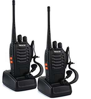 H777 UHF Walkie Talkie Flashlight Two-Way Radio