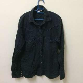 Western Shirt/Kemeja Oval Dice