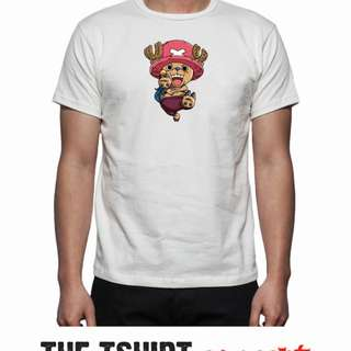 Cotton T-Shirt With One Piece Character