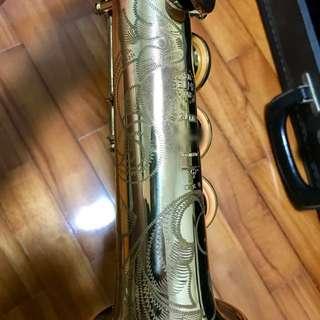 Vintage Selmer Mark VI Soprano Saxophone with Rare Engraving