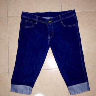 Short jeans dark blue
