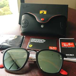 Brand new Ray-Ban FERRARI sunglasses