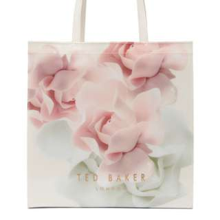 Ted Baker Icon Large Pastel Bloom Shopping Beach Tote Handbag Shoulder Bag