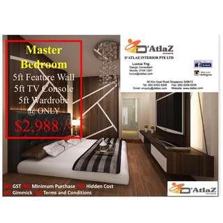Master Bedroom Package