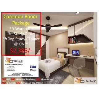 Common Bedroom Package