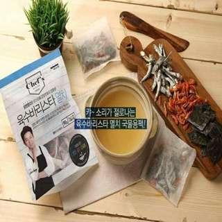 小魚乾蝦米昆布高湯包(材料皆為韓國產)
