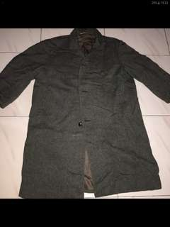 Jaket winter coat bahan wool size L