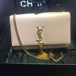 Ysl 經典粉紅 chain bag