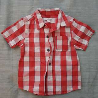 Pumpkin Patch Chequered Shirt