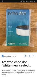 PRICE CHANGE!! Amazon Echo Dot 2nd Gen