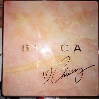 Becca x Chrissy highlighter palette