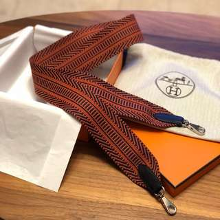 100% new Hermes Large Sangle Cavale shoulder strap