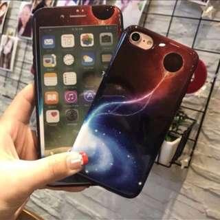 iPhone 星空Mon貼+case(1套)