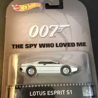 Hotwheels Lotus Esprit S1
