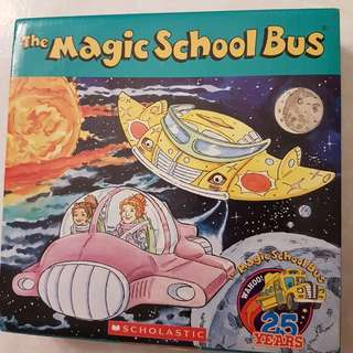 Magic School Bus 12 books