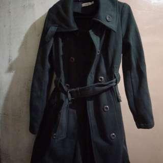 Winter trench coat (cocolatte)