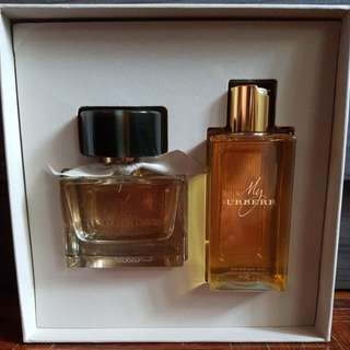 NEW My Burberry EDT Perfume & Shower Set (USA)