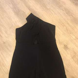 Zara black jumpsuit