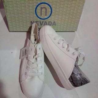White sneakers nevada free ongkir