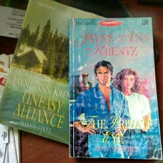 2 novel harlequin by Jayne Ann Krentz
