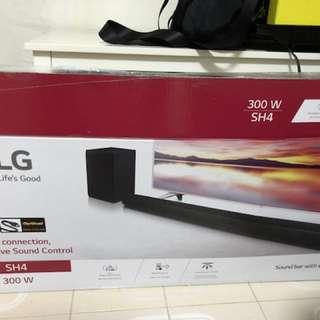 LG SH4 300W soundbar