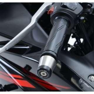 R&G Bar End Sliders for Yamaha R25' 14-, MT-25 '15-, Yamaha R3 '15- and MT-03 '16-