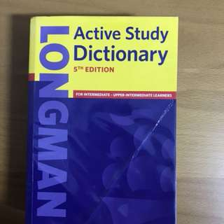 Longman Active Study Dictionary 5th Edition