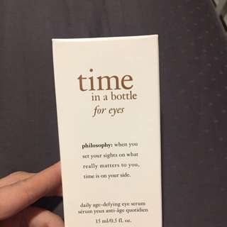 Philosophy Time In A Bottle For Eyes - 15ml