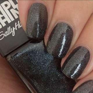 BN Sally Hansen Slick Black Triple Shine