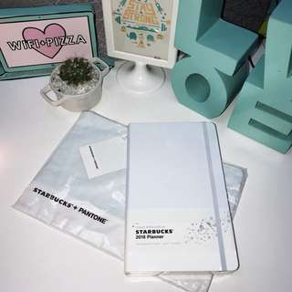 2018 Starbuck's Planner from Korea in Mystic Cloud with Pouch