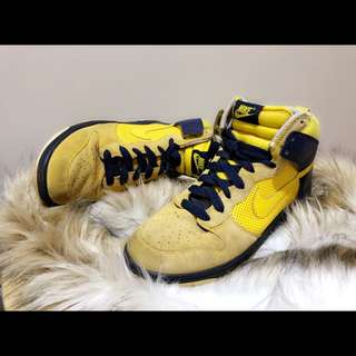NIKE Suede Dunk High Top