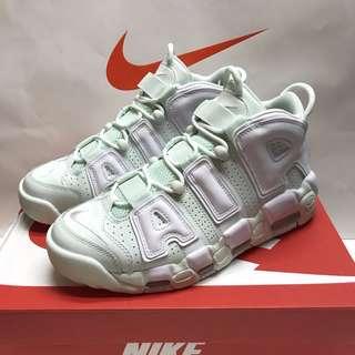 Air More Uptempo 皮蓬大AIR 薄荷绿 篮球鞋 917593-300