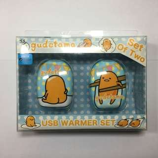 [全新正版] Sanrio蛋黃哥電子暖蛋 Gudetama USB Warmer Set