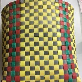 手織買餸籃