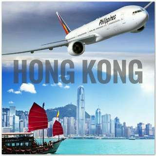 FLY TO HONG KONG VIA PHILIPPINE AIRLINES