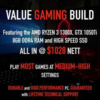 VALUE GAMING PC RIG