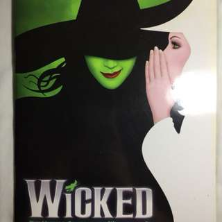Original Wicked Manila Playbill (2014)