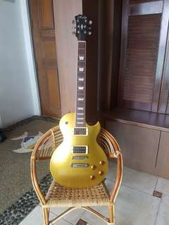 Rally Les Paul gold top