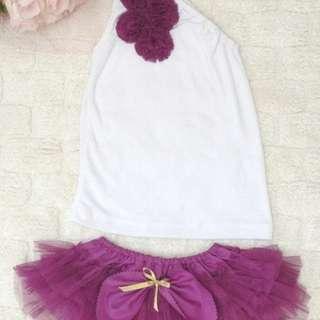 Tutu Dress Purple