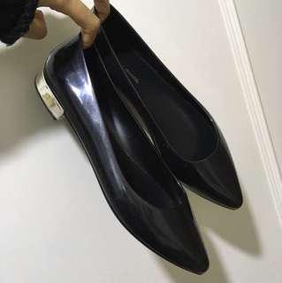 東京購入-橡膠低跟防水鞋