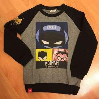 男童Batman 秋冬上衣 (5-6 years old)