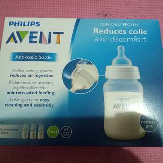 Avent Bottle, Pacifier and Teats