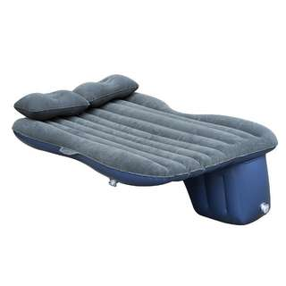 Inflatable car bed matress for backseat